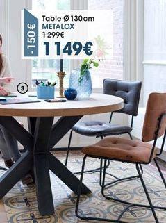 Table offre à 1149€