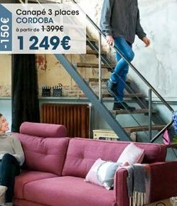 Canapé offre à 1249€