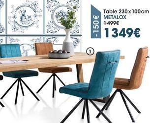 Table offre à 1349€