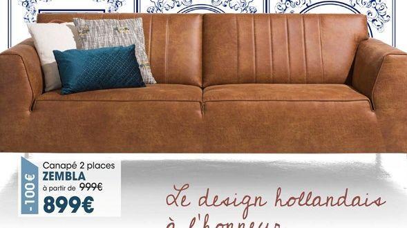 Canapé offre à 899€