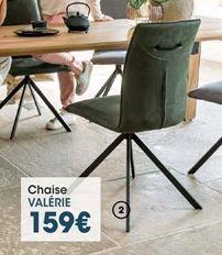 Chaise offre à 159€