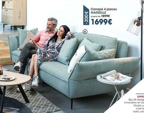 Canapé offre à 1699€