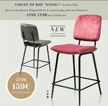 Chaise de bar offre à 159€