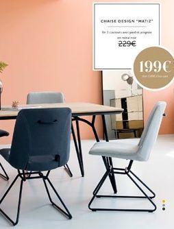 Chaise offre à 199€