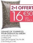 Graines offre à 16,5€