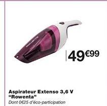 Aspirateur Extenso offre à 49,99€