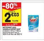 Nettoyants Sun offre à 2,03€