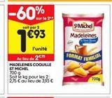 Madeleine St michel offre à 1,93€