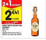 Bière offre à 2,41€