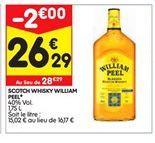 Whisky offre à 26,29€