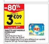 Lessive Sun offre à 3,09€