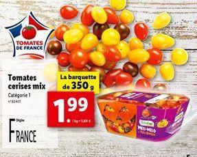 Tomates offre à 1,99€