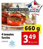 Tomates cuisinées offre à 3,49€