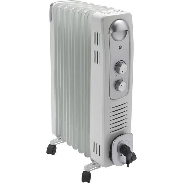Radiateur bain d'huile électrique EQUATION 1500 W offre à 39,99€