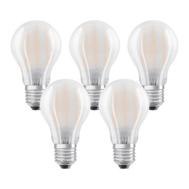 Ampoule led à filament opaque standard E27 806 Lm = 60 W ... offre à 10€