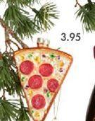 PIZZA Boule de Noël multicolore H 2 x Larg. 6 x P 8 cm offre à 3,95€