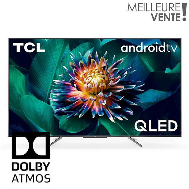 TV QLED TCL 55C715 Android TV offre à 549€