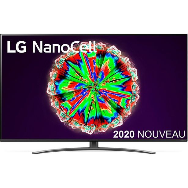 TV LED LG NanoCell 65NANO816 2020 offre à 899€
