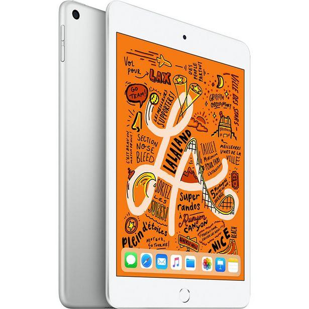 Tablette Apple Ipad Mini 7.9'' 256Go Argent offre à 559€