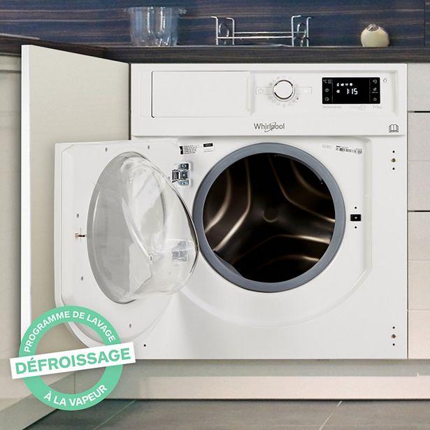 Lave linge séchant hublot Whirlpool BIWDWG75148EU Reconditionné offre à 468,02€