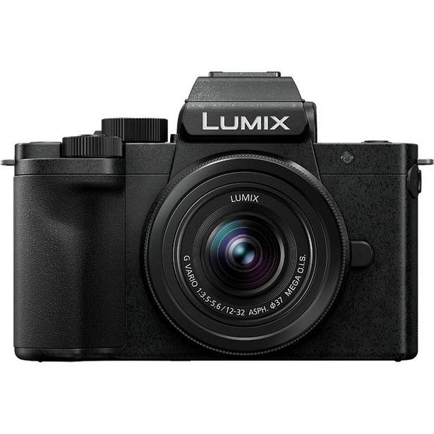 Appareil photo Hybride Panasonic G100 + 12-32mm + 2ème batt + SD32G offre à 599€