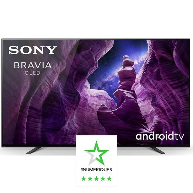 TV OLED Sony OLED KD65A8 offre à 2490€