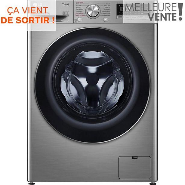 Lave linge séchant hublot LG F954N42IXRS offre à 679€
