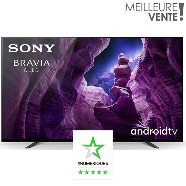 TV OLED Sony OLED KD55A8 offre à 1490€