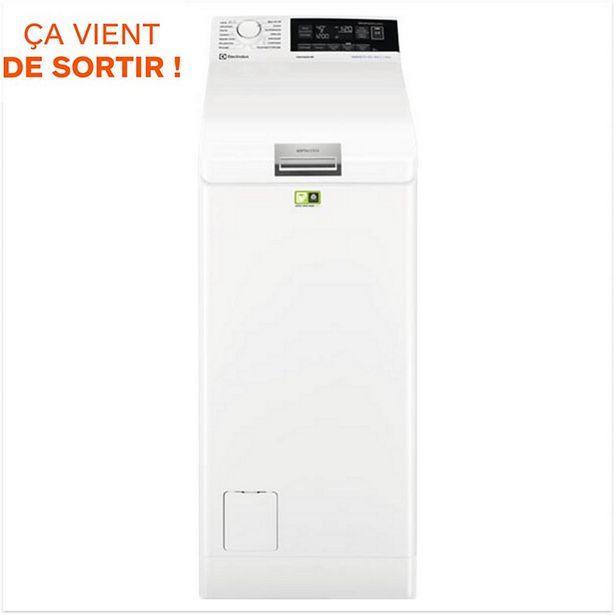 Lave linge top Electrolux EW8T3376HL/ offre à 599€