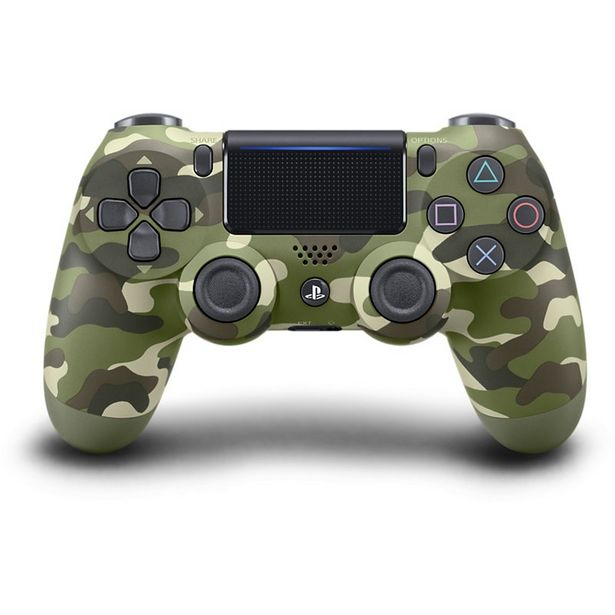 Manette Sony PS4 Dual Shock Green Camo V2 offre à 59,99€