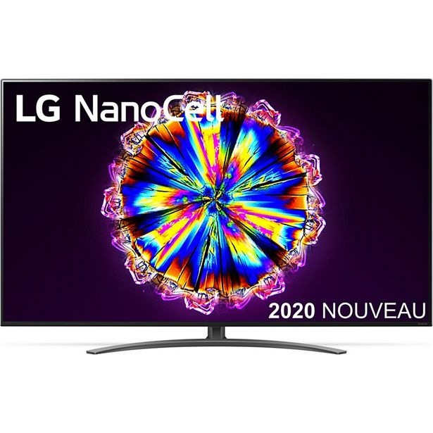 TV LED LG NanoCell 55NANO916 2020 offre à 999€