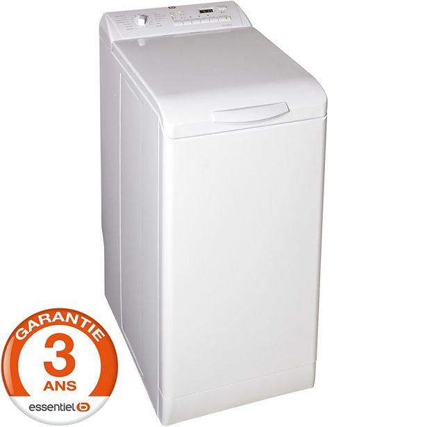 Lave linge top Essentielb ELT713DD1 offre à 399€