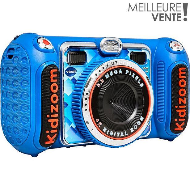 Appareil photo enfant Vtech Kidizoom Duo DX bleu offre à 64,9€