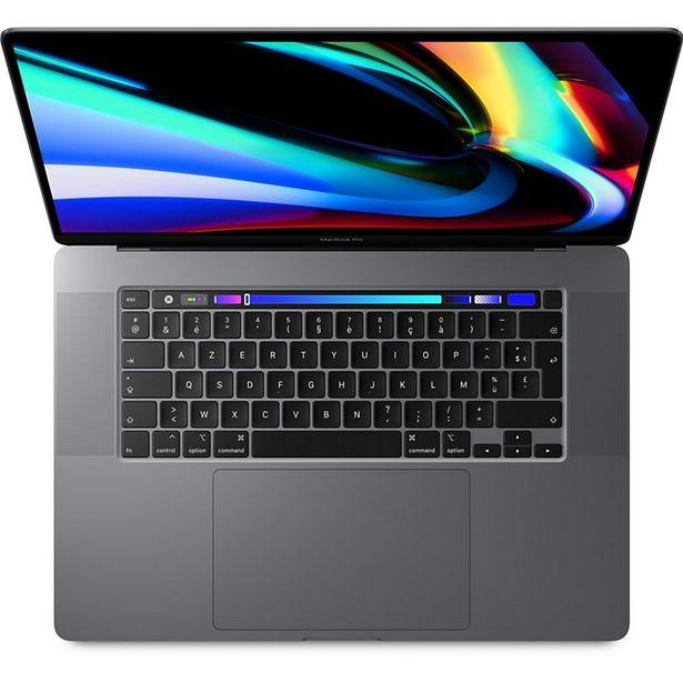 Ordinateur Apple Macbook Pro 16 Touch Bar I9 1To Gris Sidéral offre à 2949€