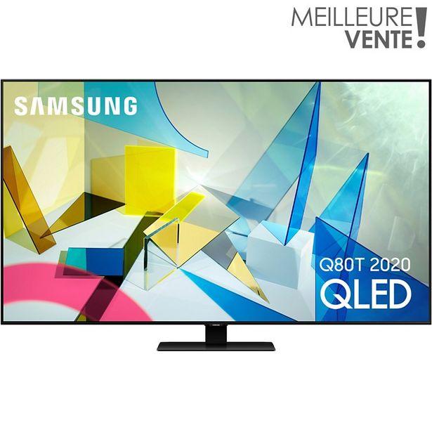 TV QLED Samsung QE65Q80T 2020 offre à 1790€