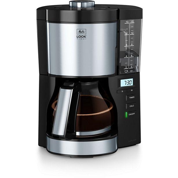 Cafetière filtre Melitta Look V Timer noir 1025-08 offre à 79€