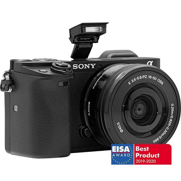 Appareil photo Hybride Sony A6400 Noir + 16-50mm offre à 899€