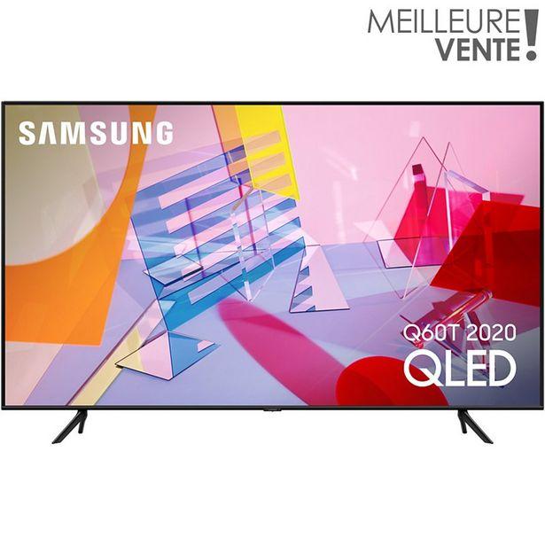TV QLED Samsung QE55Q60T 2020 offre à 899€