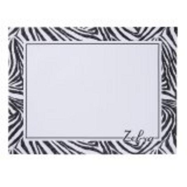 Sous-main papier 30 feuilles - 30 x 40 cm - Cultura - Zebra offre à 5,99€