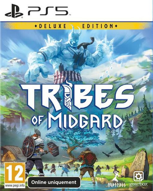 Tribes Of Midgard  PS5  offre à 34,99€