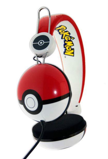 Casque Pokémon Poké Ball Multisupports   offre à 14,99€