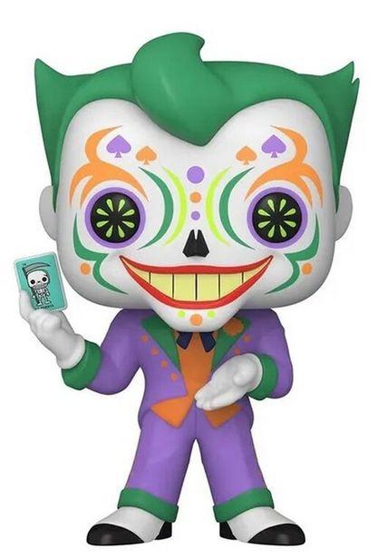 Figurine Funko Pop! - N°414 - Dia De Los Dc - Joker   offre à 14,99€