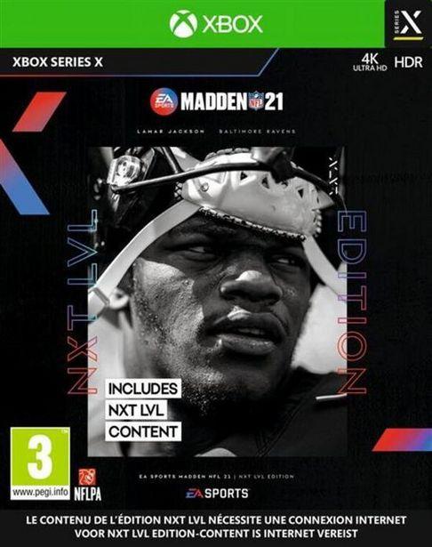 Madden NFL 21  XBOX SERIES X  offre à 59,99€