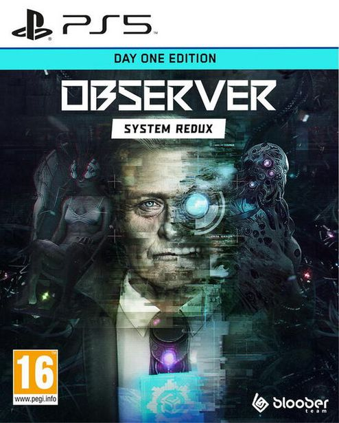 Observer: System Redux Day One Edition  PS5  offre à 29,99€