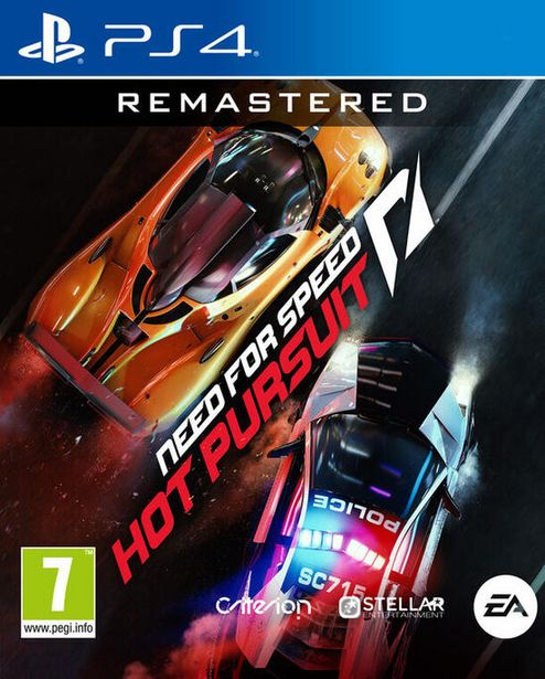 Need For Speed Hot Pursuit Remastered  PS4  offre à 29,99€
