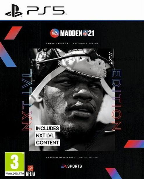 Madden NFL 21  PS5  offre à 59,99€