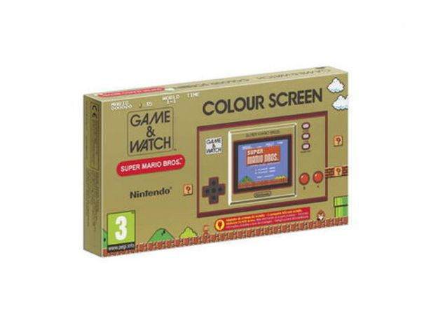 Game & Watch Super Mario Bros System   offre à 49,99€