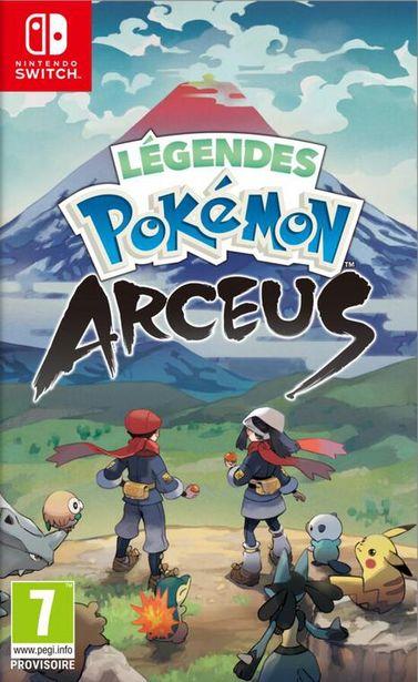 Legendes Pokemon Arceus  SWITCH  offre à 59,99€