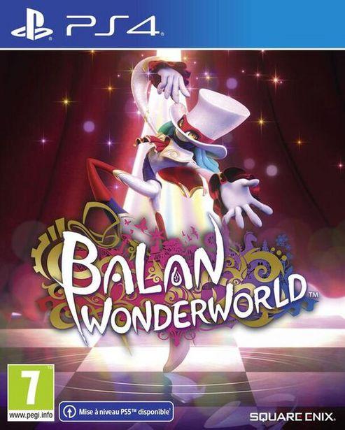 Balan Wonderworld  PS4  offre à 39,99€