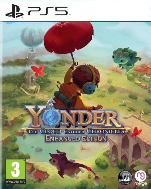 Yonder The Cloud Catcher Chronicles Enhanced Edition  PS5  offre à 34,99€